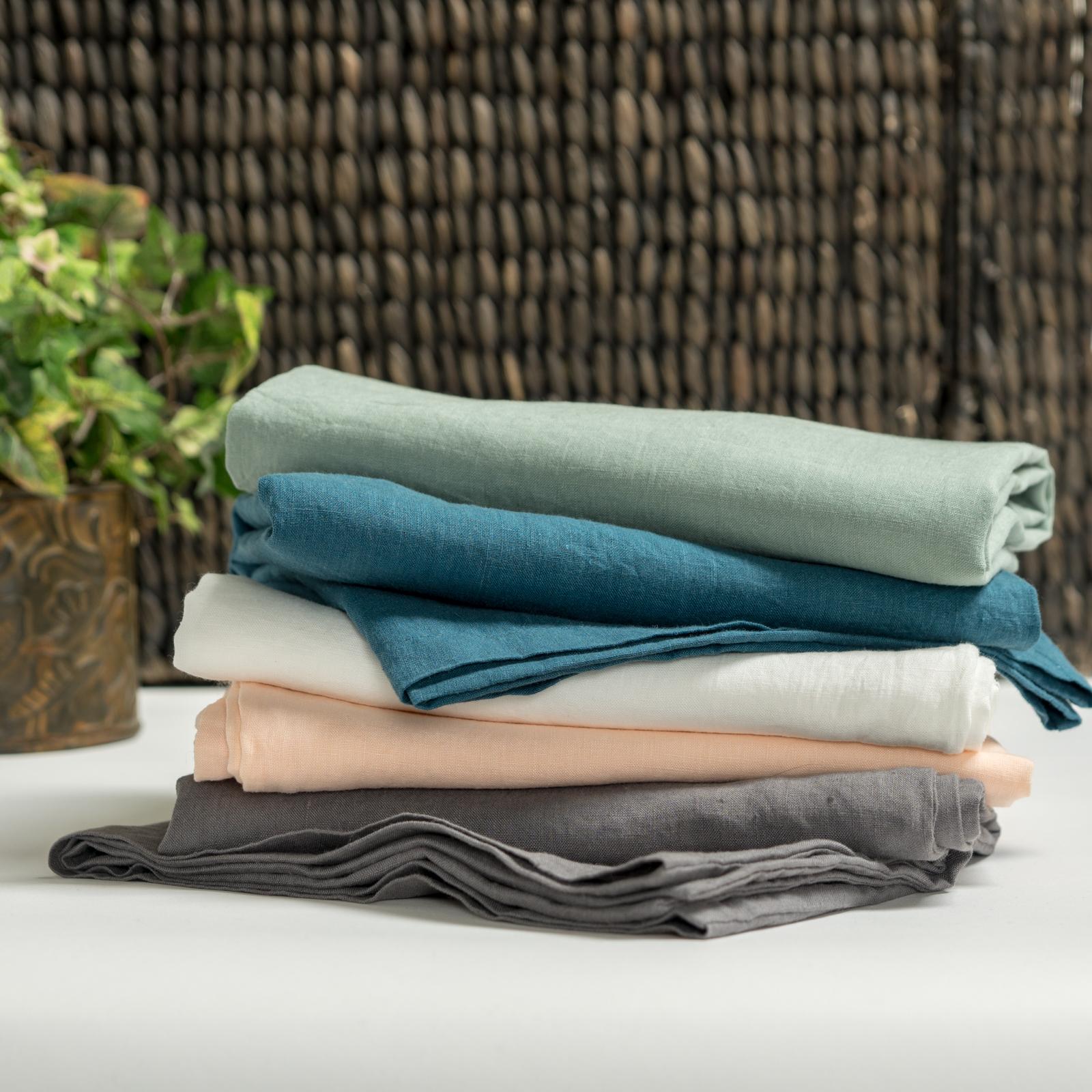 Linen Stack Sheets Pillows
