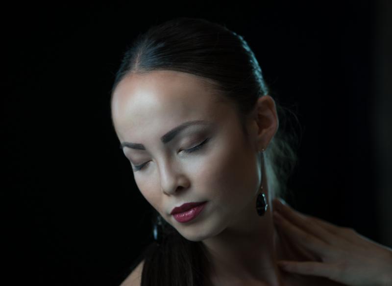 model head shot