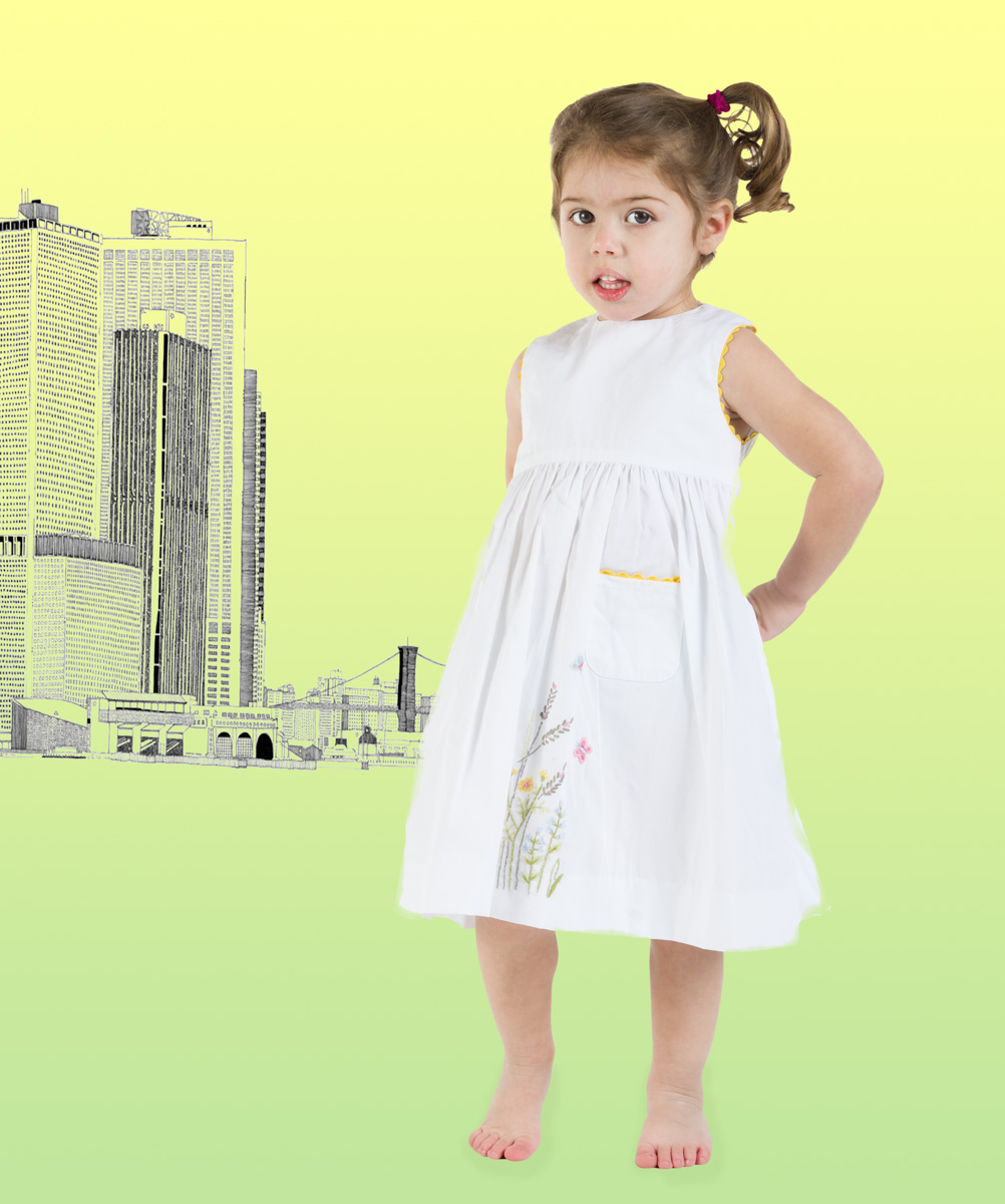 springdress child