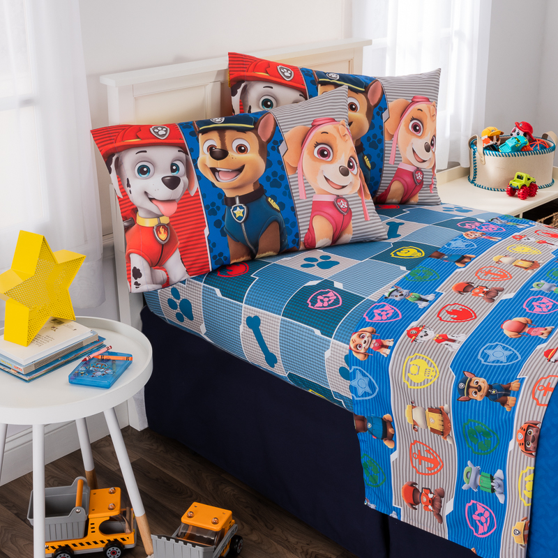 side paw patrol two pillows