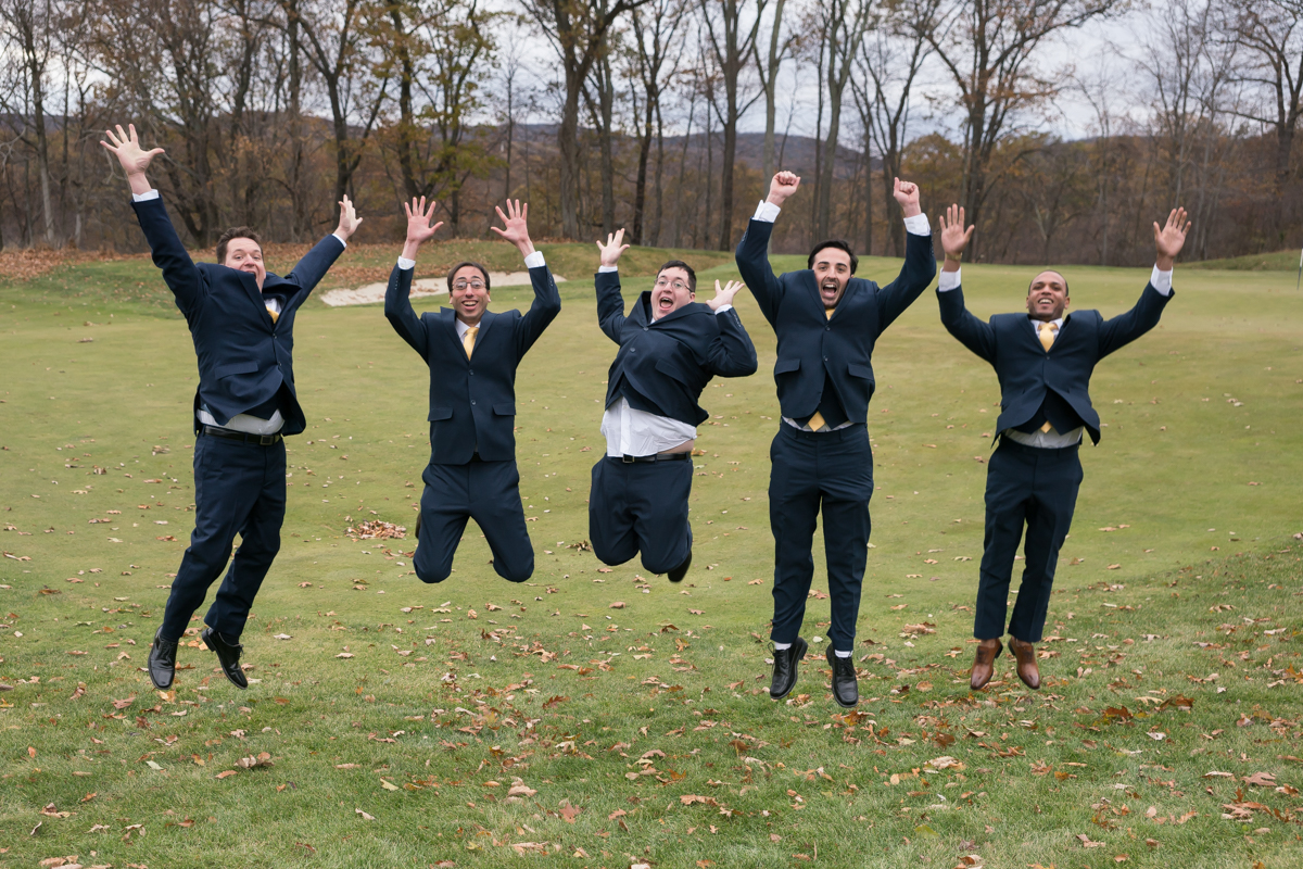 Wedding Leap for Joy